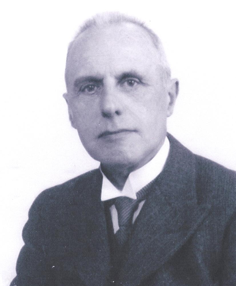 Harke Keegstra, oprichting van de Gemeentegiro Amsterdam Bron: familiearchief Keegstra