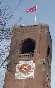 De toren van de Beurs van Berlage - foto S. Lelieveldt - Financieel Erfgoed