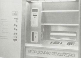 Geldautomaat van Girokantoor Amsterdam
