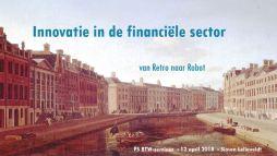 Innovatie in de financiële sector